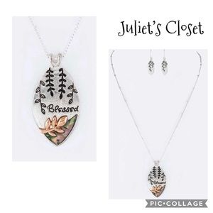 Blessed necklace set